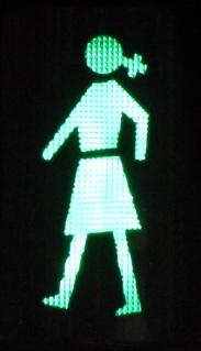 Semáforo de A Coruña. Imagen obtenida de la web www.acosasdetias.com