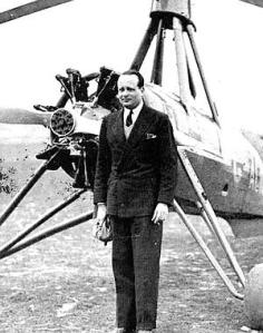 Juan de la Cierva, inventor del autogiro