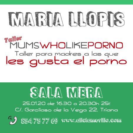 Cartel Maria Llopis Sala Mera